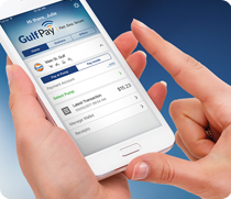 Gulf Pay is a fast, easy, and secure way to pay at the pump or in-store directly from the convenience of your smartphone. With Gulf Pay, you can find nearby ...