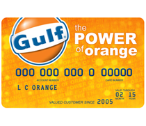 The Gulf Card offers pay-at-the-pump convenience at all Gulf stations, and boasts $0 fraud liability and no annual fee. It is a great way to build credit!