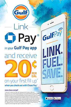 Link Chase Pay in Gulf Pay